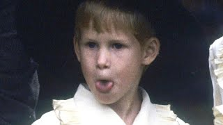 Prince Harry Was a Cheeky Pageboy at Princess Diana