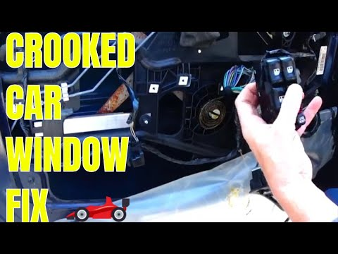 How To Fix An Off Track Window In Your Car