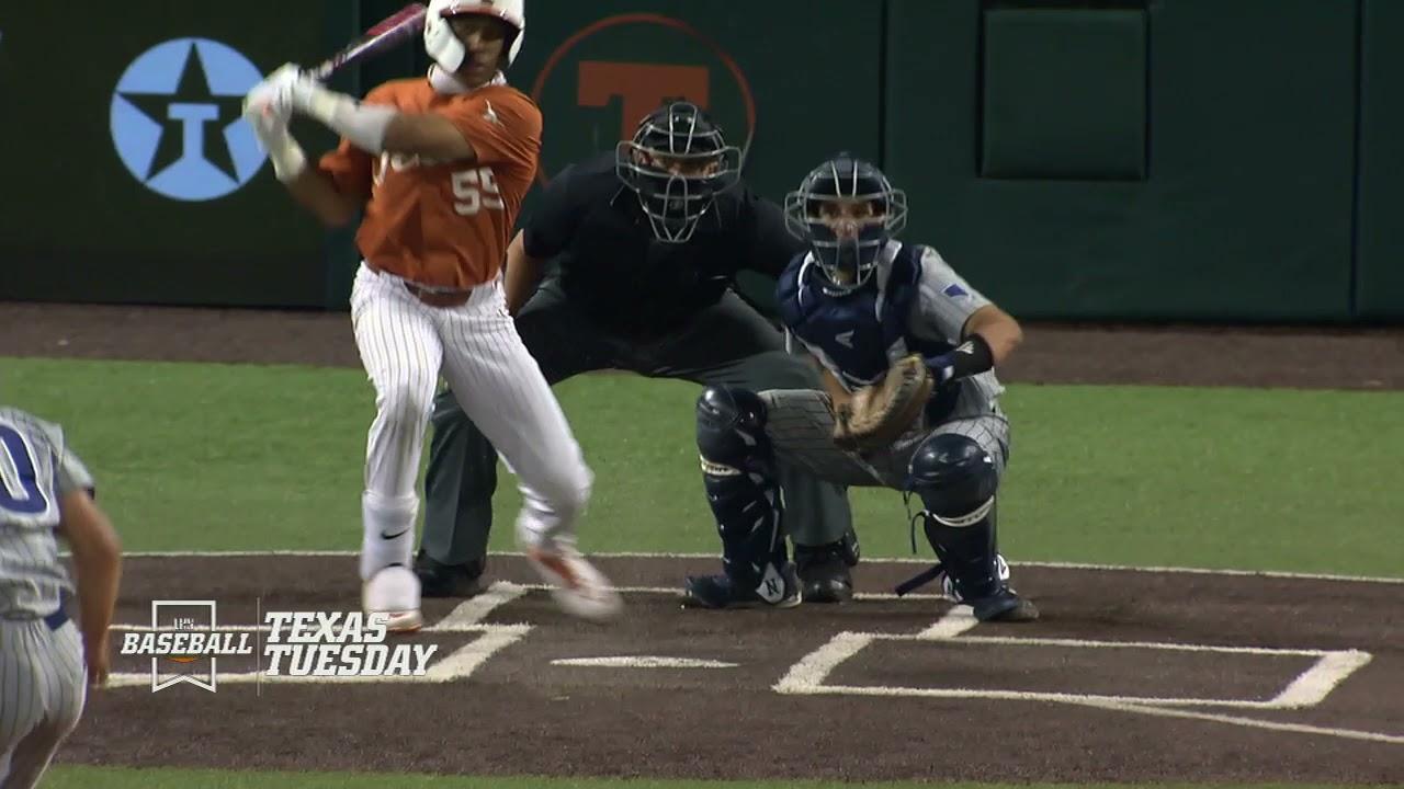 Texas Baseball vs Nevada LHN Highlights [April 13, 2021]