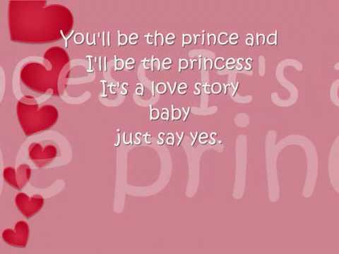 Love Story Taylor Swift Instrumental with Lyrics