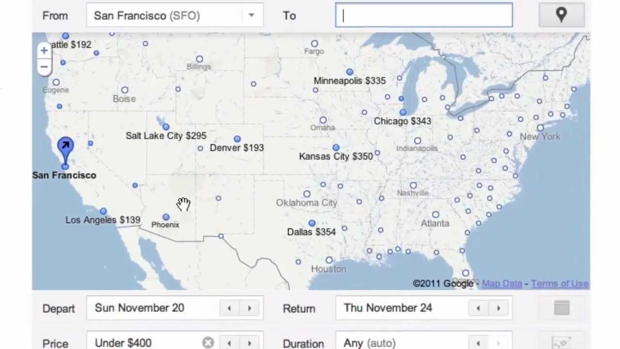 Flight Search: Exploring travel options - See how Flight Search from Google can help you explore travel options. Try out Flight Search at www.google.com/flights.