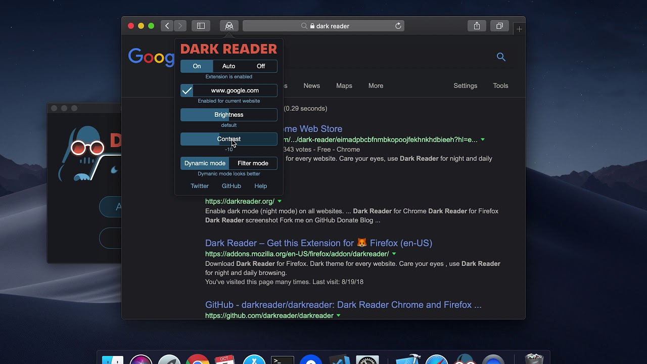 Dark Reader for Safari - Dark mode for every website | Product Hunt