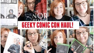 Geeky Comic Con Haul with ReadersRambles   The Book Life
