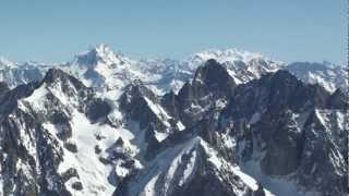 Mont Blanc - Aiguille du Midi w HD, cz. 1