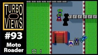 """Moto Roader"" - Turbo Views #93 (TurboGrafx-16 / Duo / Wii game REVIEW!)"