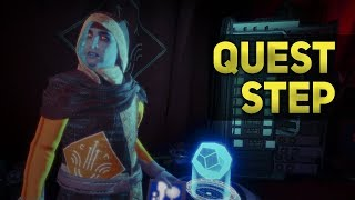 Journal of the Reef Cryptarch Step 2 and 3 | Destiny 2 Forsaken