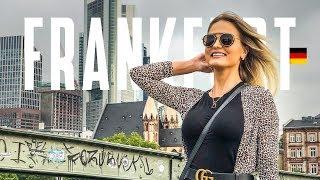 O que fazer em Frankfurt na Alemanha - vlog de viagem na Europa