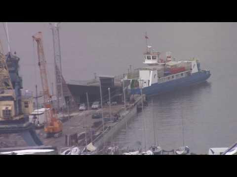 PANORAMA: Nr 4  KELTAS. Baltic Sea Gate, Neringa UNESCO Reserve, ships