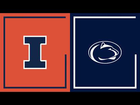 First Half Highlights: Penn State at Illinois | Big Ten Basketball