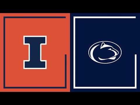 First Half Highlights: Penn State at Illinois | Big Ten Basketball