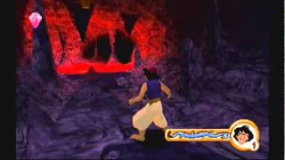 Ps1 game: Aladdin In Nasira's Revenge-Nasira's Lair Level 2