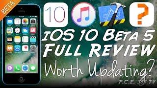 видео Apple выпустила пятую бета-версию iOS 10.3.2