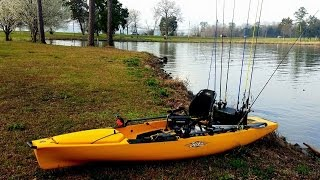 diy trolling motor build for hobie pa 14 kayak
