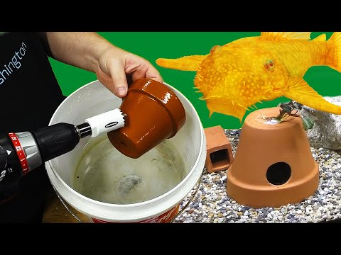 How To Make An Easy DIY Breeding Cave For Plecos And Cichlids