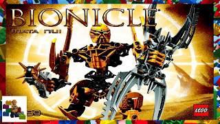 LEGO instructions  - Bionicle - 8989 - Mata Nui
