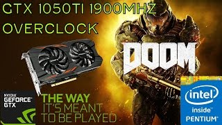 GTX 1050 Ti Intel G4400 Doom Ultra 1080p Gameplay