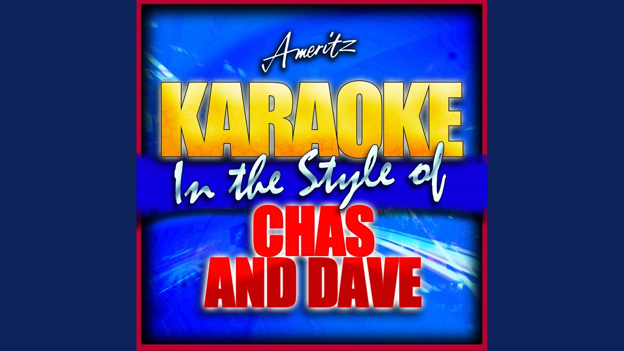 The Sideboard Song (In the Style of Chas and Dave) (Karaoke Version) YouTube