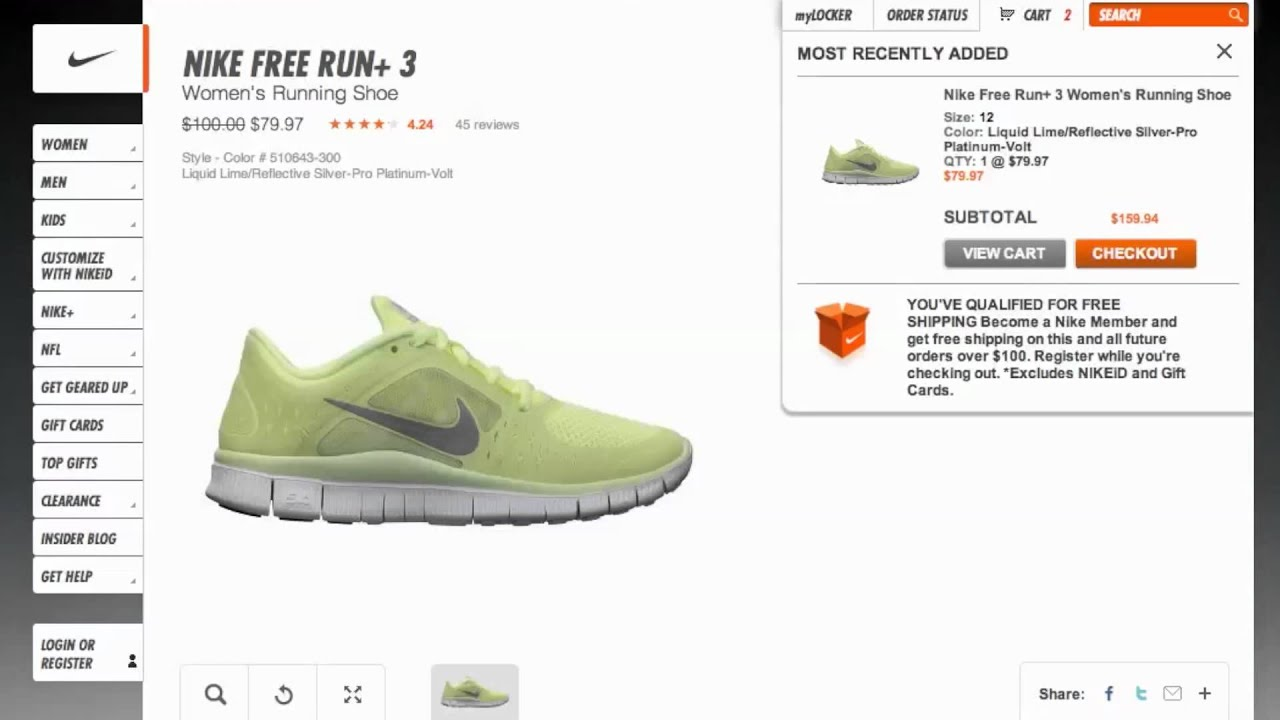 half off 59267 f559c Nike Coupon Code 2013 - How to use Promo Codes and Coupons for Store.Nike .com