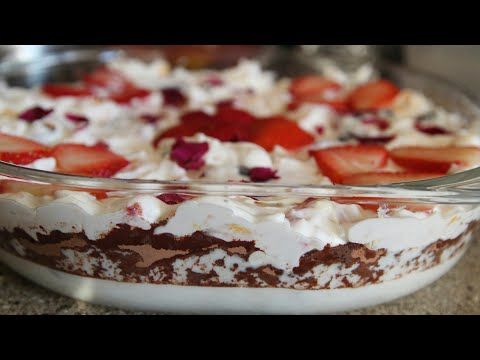 Fruit Cream Bread Pudding - Mixed Fruit Dessert - Dessert Recipe  - Indian Recipes - Pooja's Kitchen