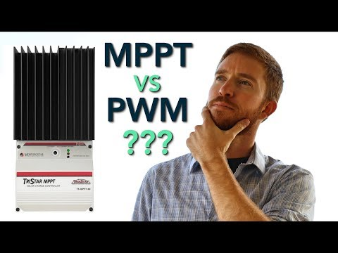 Comparing + Sizing MPPT vs PWM Solar Charge Controller