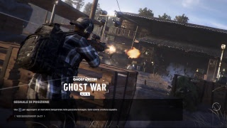 Ghost Recon live so tornato giosedia