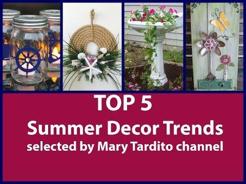TOP 5 Summer Decor Trends – Summer Decorating Ideas – Best Videos Compilation 2018