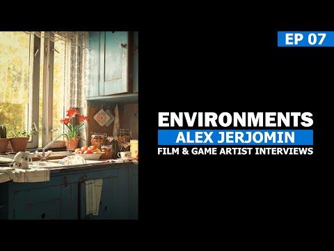 The Student Art Podcast - Episode 007 - Alex Jerjomin - Senior Environment Artist
