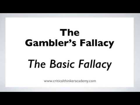 The Gambler's Fallacy: The Basic Fallacy (1/6)