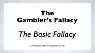 The Gambler's Fallacy: The Basic Fallacy (1/6) Thumbnail
