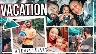 OUR FIRST OFFICIAL FAMILY VACATION TO THE MOUNTAINS! | FAMILY TRAVEL DIARY 2020 | Page Danielle