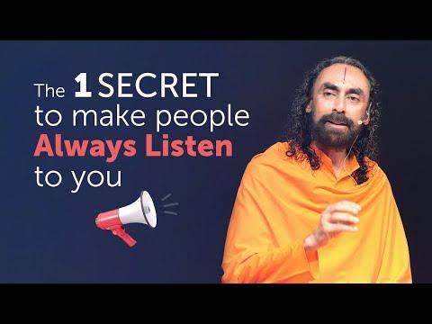 The 1 Secret to Make People Always Listen to You | Swami Mukundananda