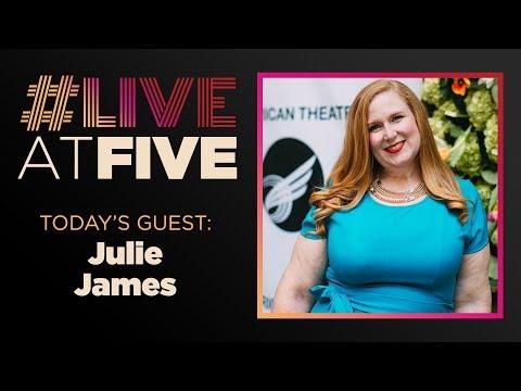 Broadway.com #LiveatFive With SiriusXM's Julie James
