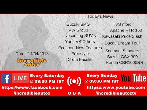 🔴 Live News and Q & A | Suzuki, TVS, SUVs, Yaris, Ecosport