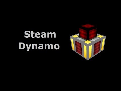 Steam Dynamo (Tekkit/Feed The Beast) - Minecraft In Minutes
