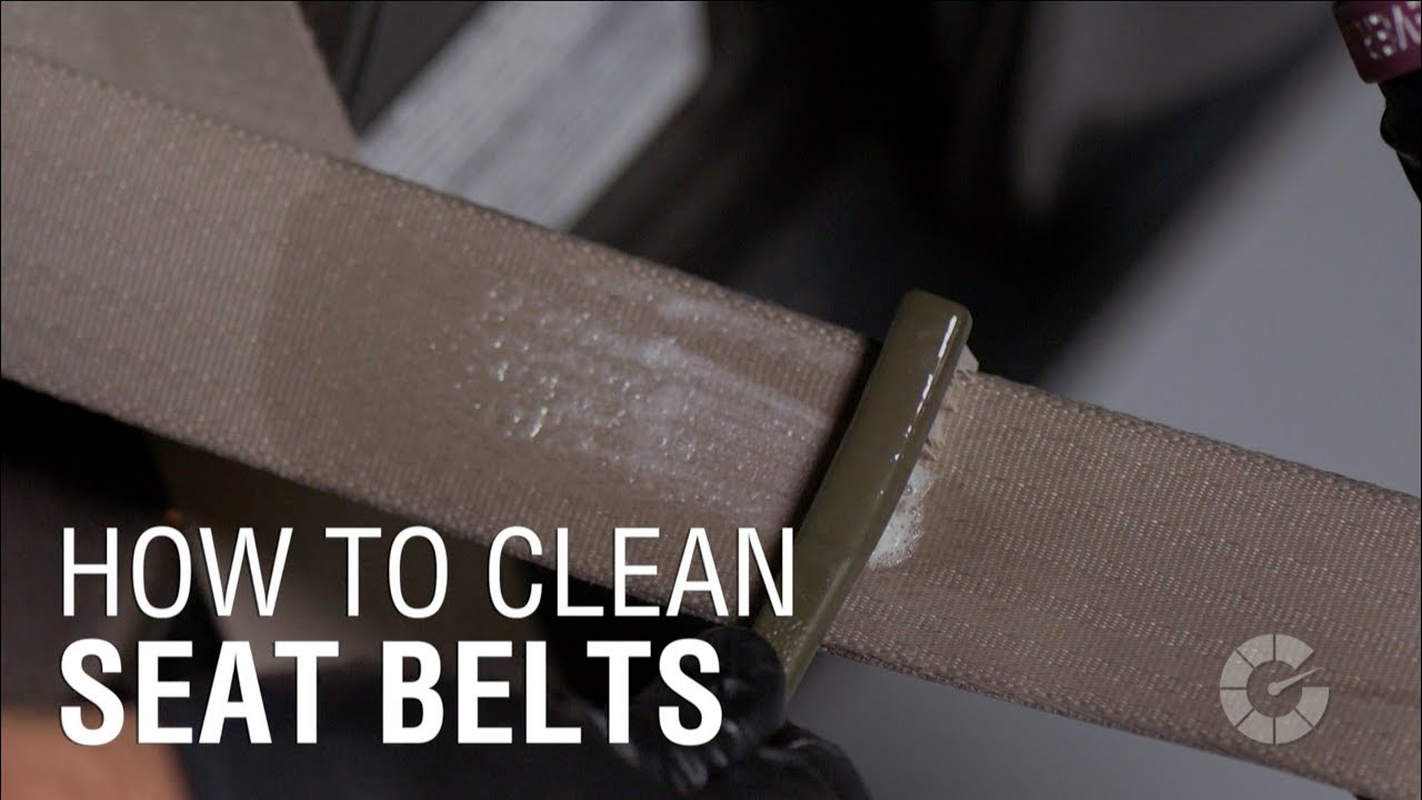 How To Clean Seat Belts Autoblog Details