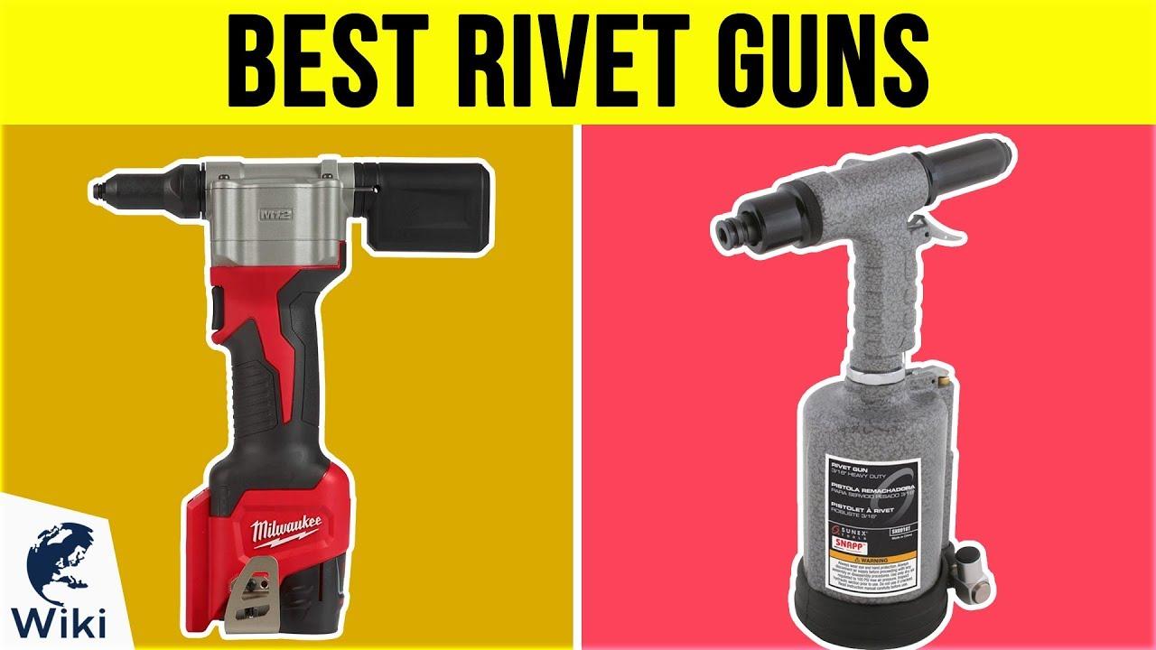 Pop Rivet Gun Hand Riveter Riveting Tool Rivet Setting Setter Kit 5 nosepieces
