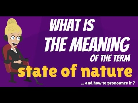 thomas hobbes state of nature refers to