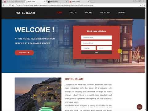 WebSite HOTEL In Html5 Css3 Js