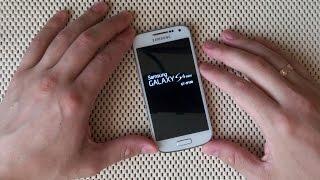 Скидання налаштувань Samsung Galaxy S4 mini (GT-i9190) через Recovery