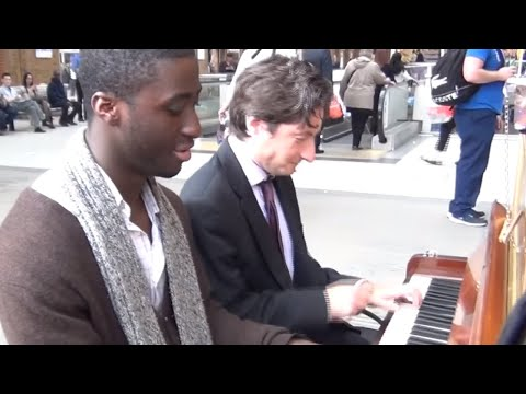 Boogie Blues in Liverpool Street | Patrick Playing Piano