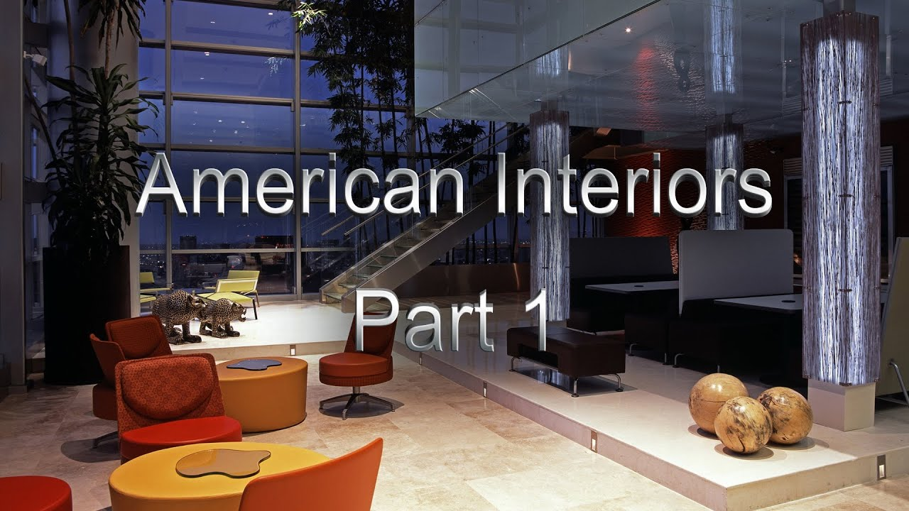 The home interiors in the usa american interiors for Interior designer usa
