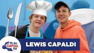 Lewis Capaldi Gets Grilled While Cooking Microwave Meals 🍝 | FULL INTERVIEW Video