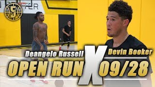 Devin Booker and D'Angelo Russell Dominate Open Run