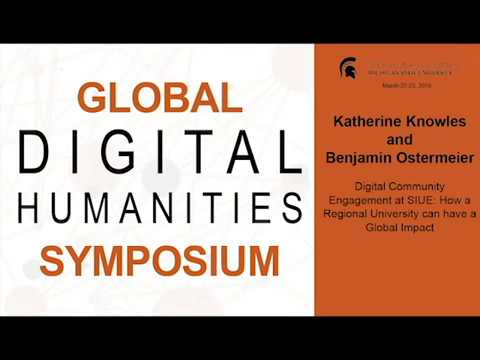 Katherine Knowles and Benjamin Ostermeier | Digital Community Engagement at SIUE thumbnail