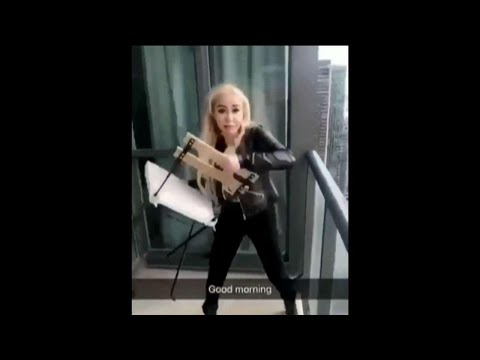 Woman wanted for throwing chairs off condo balcony