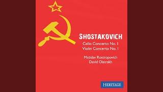 Cello Concerto No. 1 in E-Flat Major, Op. 107: I. Allegretto