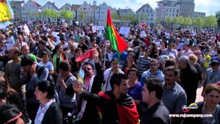 Shingal - stop terror against ezidis - Demonstration Bielefeld 09.08.2014
