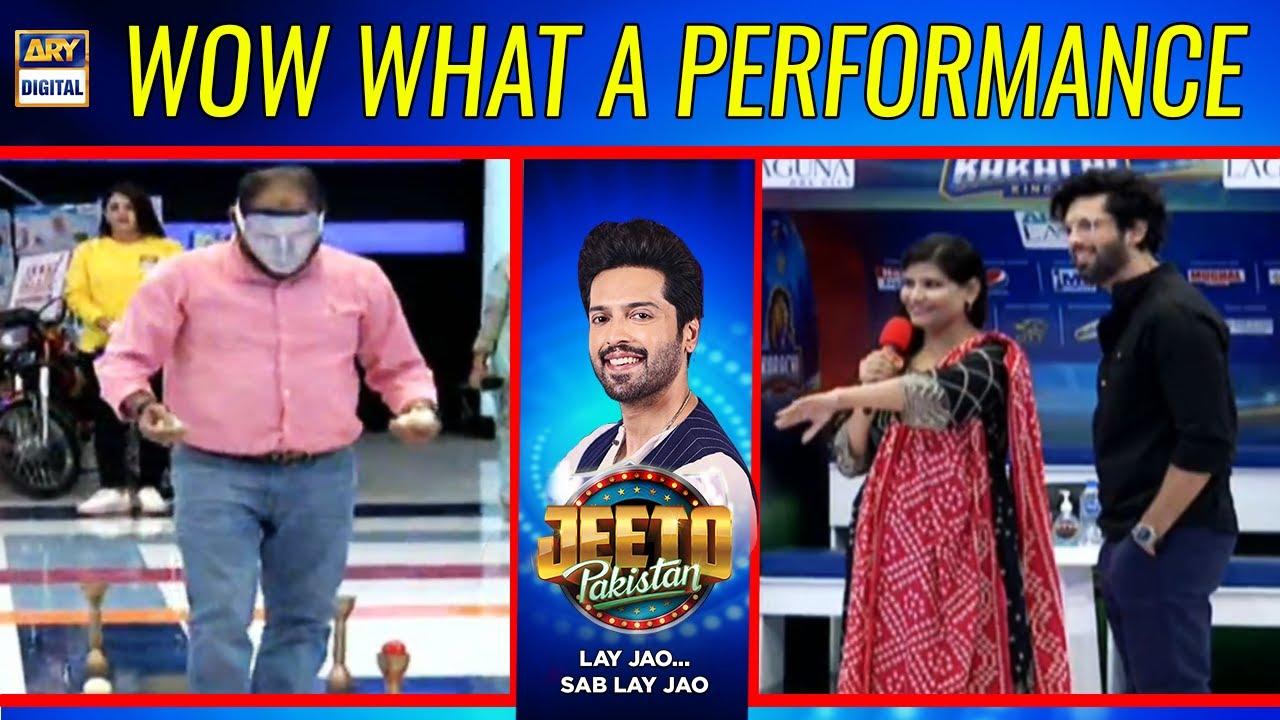Wow What a Performance - Fahad Mustafa | Jeeto Pakistan