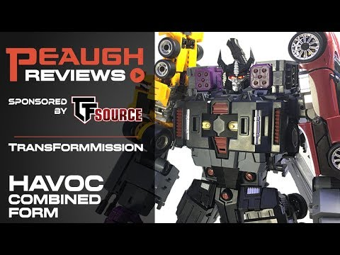 Video Review: TransFormMission HAVOC COMBINED MODE