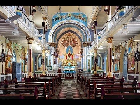 Tour of Mount Mary Church Bandra Mumbai